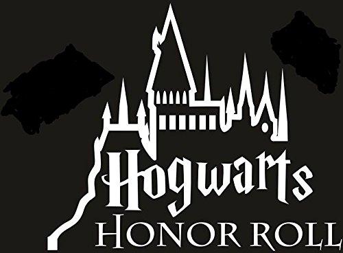 (HARRY POTTER HOGWART HONOR ROLL VINYL STICKERS SYMBOL 5.5