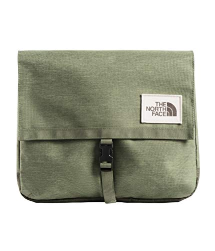 - The North Face Unisex Berkeley Satchel Four Leaf Clover Dark Heather/New Taupe Green Dark Heather One Size