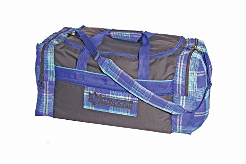 Price comparison product image Kensington KPP Roustabout Gear Bags,  Grey with Blue Ice Plaid,  Large