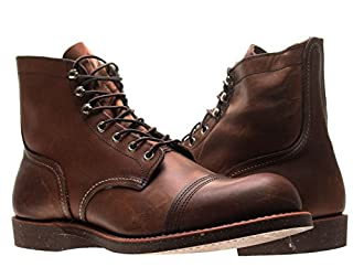 Red Wing Heritage 8111 Iron Ranger 6-Inch Cap Toe Mens Boots 08111 Amber 8D M US (B0054EWACI) | Amazon price tracker / tracking, Amazon price history charts, Amazon price watches, Amazon price drop alerts