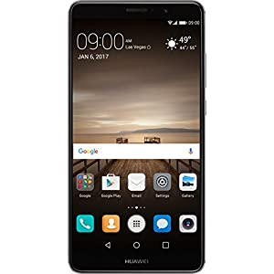Huawei Mate 9 with Amazon Alexa and Leica Dual Camera - 64GB Unlocked Phone - Space Gray (US Warranty)