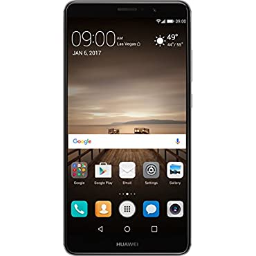 Huawei Mate 9 64GB Unlocked Phone with with Leica Dual Camera (Space Gray)