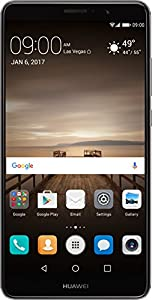 Huawei Mate 9 with Leica Dual Camera - 64GB Unlocked Phone - Space Gray (US Warranty)