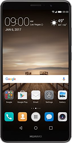 Huawei Mate 9 with Amazon Alexa and Leica Dual Camera - 64GB Unlocked Phone - Space Gray (US Warranty)]()
