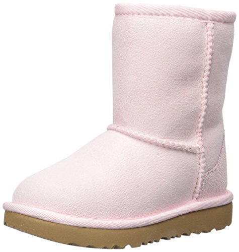 UGG Girls T Classic II Fashion Boot, Seashell Pink, 12 M US Little Kid by UGG