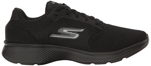 Skechers Performance Herren Go Walk 4 Lace-up Wanderschuhe Schwarz stricken
