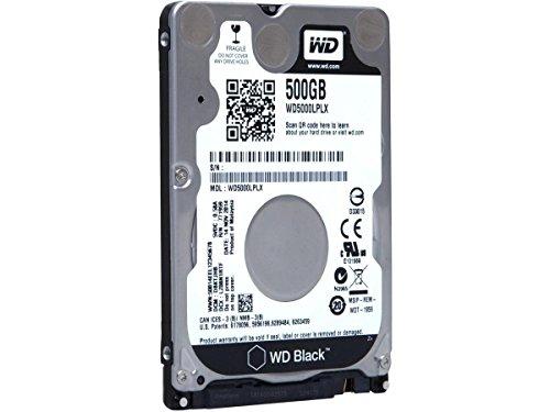 CLASSYTEK WD Black 500GB Performance Mobile Hard Disk Drive - 7200 RPM SATA 6 Gb/s 32MB Cache 7 MM 2.5 Inch - WD5000LPLX