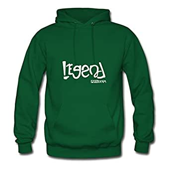 Sarahdiaz Women Legend - Loser Prank Painting Styling Funny Green Sweatshirts In X-large