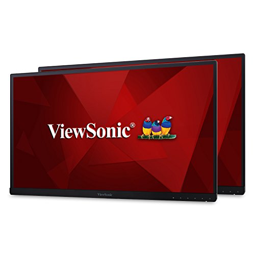 "ViewSonic VG2753_H2 27"" Dual Pack Head-Only IPS 1080p Frameless Monitors HDMI, DisplayPort"