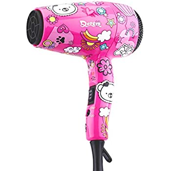 Amazon Com Deogra Travel Hair Dryer For Kids Portable