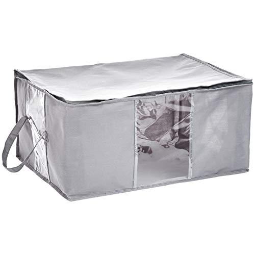 AmazonBasics Zippered Storage Bag with Window