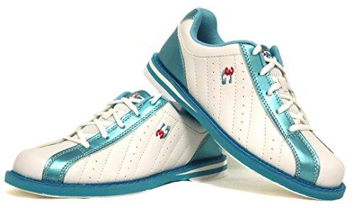 Femmes Gauchers Blanc Chaussures 3g Bowling Droitiers Et De Pour bleu Hommes w8qngfY8z
