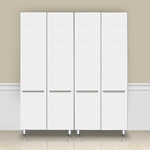 Ulti-MATE Storage GA-062KSW 2-Piece Tall Garage Cabinet Kit in Starfire Pearl by Ulti-MATE Storage