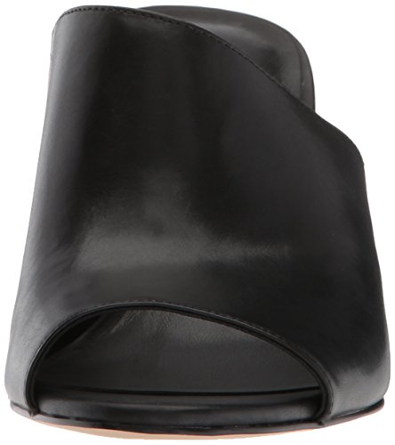 Black Nine Leather Janissah West Women's Sandal Slide RwXxa7fqw
