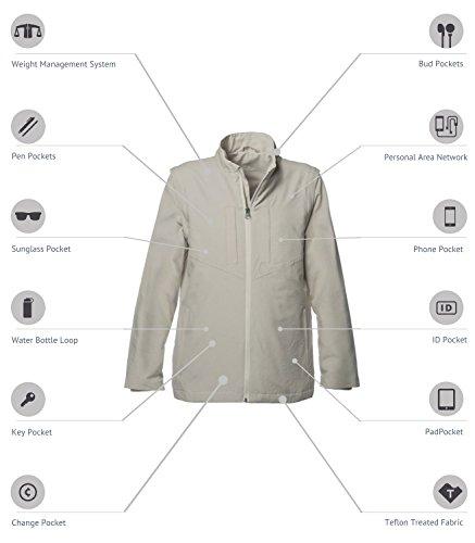 SCOTTeVEST Women's Standard Jacket - 25 Pockets - Travel Clothing, Pickpocket Proof BGE S