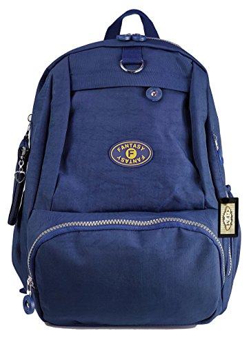 Power Collection ,  Damen Herren Unisex-Erwachsene Schulrucksack Style 2.1 - Navy Blue (7022GHNL)