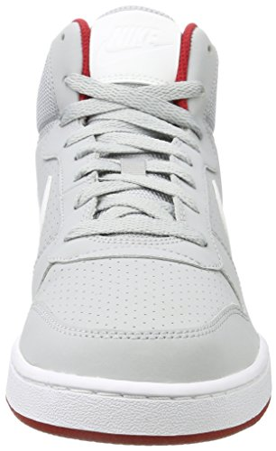 Court NIKE Grey Basketball Shoes gym Borough Grey s Mid White Men Red Wolf FwErwzCq4
