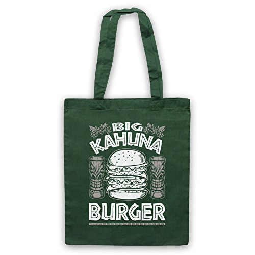 Kahuna by Unofficial Bag Dark Tote Pulp Green Burger Fiction Big Inspired 7AWIqFRq