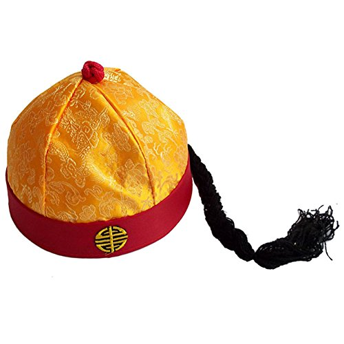 Sunny Hill Ancient Chinese Royal Emperor Hat Role Play Decorative Cosplay Hat -