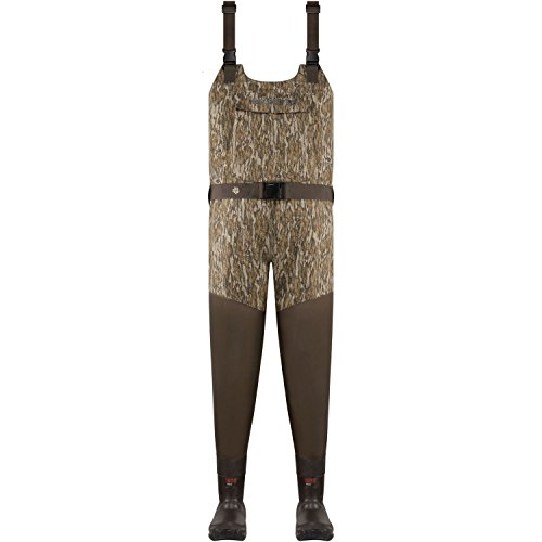- Lacrosse Men's Wetlands Insulated Wader 1600G, Mossy Oak Bottomland - 13-M