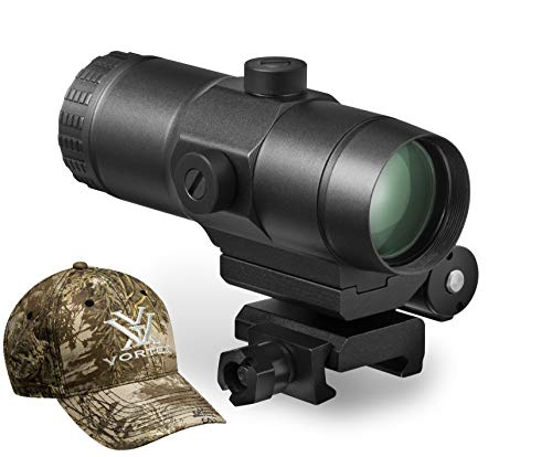 Vortex VMX-3T Sight Magnifier with Vortex Hat (Best Red Dot Magnifier For The Money)