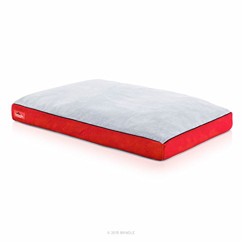 BRINDLE-Soft-Memory-Foam-Dog-Bed-with-Removable-Washable-Cover