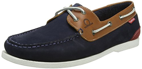 Chatham Galley II, Chaussures Bateau Homme, Marron Bleu (Navy Tan 009)