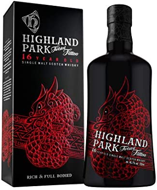 Highland Park Highland Park 16 Years Old TWISTED TATTOO Single Malt Scotch Whisky 46,7% Vol. 0,7l in Giftbox - 700 ml