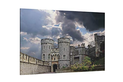 - St Georges Chapel Windsor Castle England - Canvas Wall Art Gallery Wrapped 26