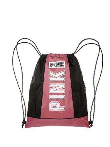 Victoria's Secret PINK Drawstring Backpack Soft Begonia