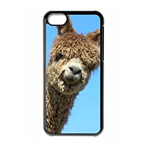 Alpaca Brand New Cover Case with Hard Shell Protection for Iphone 5C Case lxa#920698