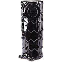 Zuo Owl Umbrella Stand, Black