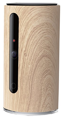 PETKIT SPC1WD Mate Wi-Fi Dual Communication Dog & Cat Video Monitor Camera, One Size, Wood Brown by PETKIT
