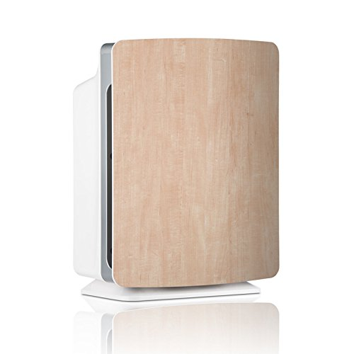 Alen-BreatheSmart-FIT50-Customizable-Air-Purifier-with-2-HEPA-Pure-Filter-for-Allergies-and-Dust-Natural-Maple-Smart-Bundle-Pure-2-Pack