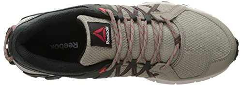 Reebok Mens Trailgrip Rs 5.0 Scarpa Da Corsa Beach Stone / Dark Sage / Sand Stone / Riot Red / Black