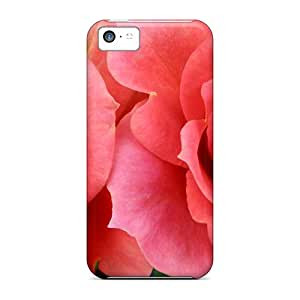 High Quality Twin Roses Case For Iphone 5c / Perfect Case