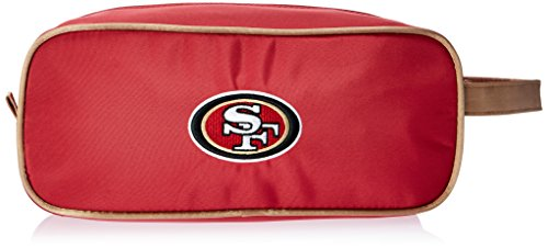 NFL San Francisco 49ers Unisex Travel Case-Toiletry Bag-Dopp Kit Case-Embroidered Logo- by Little Earth