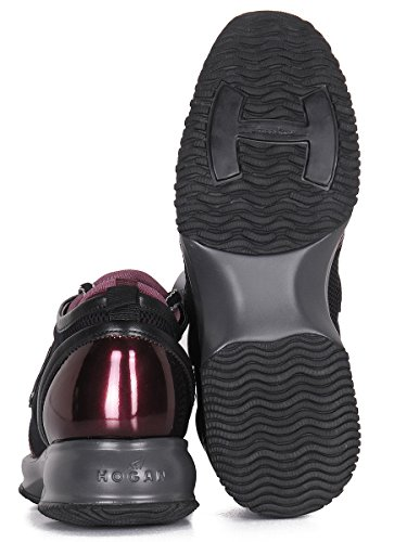 Hogan Women's Gymnastics Shoes purple bordeaux 5 Bordeaux jOR51W
