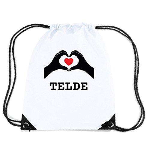 JOllify TELDE Turnbeutel Tasche GYM3652 Design: Hände Herz
