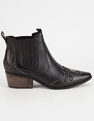 Society Natural Bootie Leather New Black Amuse Suede Matisse Women's X Backstage Leather qwzxaI6zR