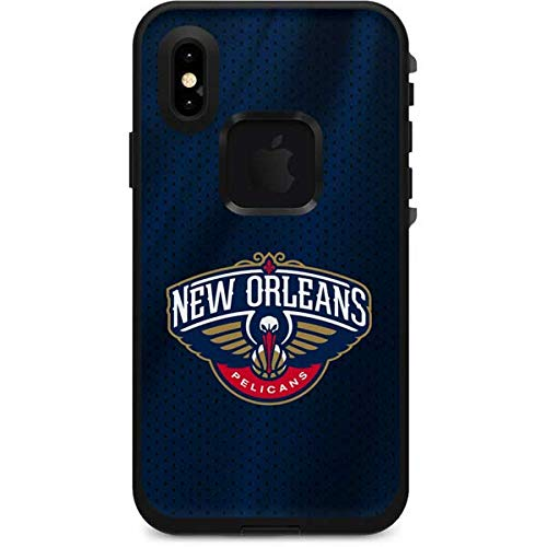bf57c3c6eb0 Skinit New Orleans Pelicans Jersey LifeProof Fre iPhone Xs Skin -  Officially Licensed NBA Skin for