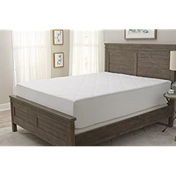 Amazon Com Serta Perfect Sleeper Total Protection Mattress Pad Twin Home Amp Kitchen