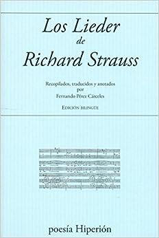 Book Los Lieder de Richard Strauss