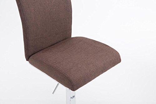 Clp sgabello di design kÖln con schienale e poggiapiedi sgabello