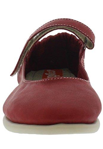 Softinos Damen Val363sof Ballerinas Rot