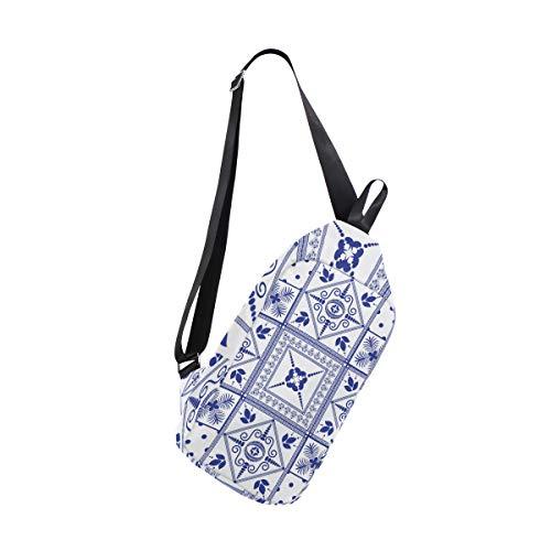 (Church Classic Ceramic Picture Multipurpose Crossbody Shoulder Bag,Travel Hiking Daypack,Fashion Sling Bag,Water Resistant Anti Theft Shoulder Backpack.)