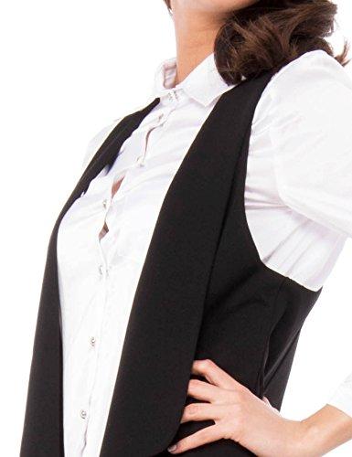 Foderato Gilet Roma Isabella Noir 8030fd Veste Femme O01qWRx