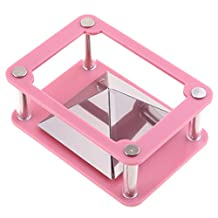 MonkeyJack Universal 3D Holographic Stand Pyramid Projector Phone Hologram Box For All 3.5''~5.5'' Smart Phones Pink