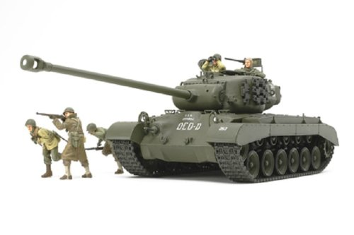 - Tamiya Models US Tank T26E4 Super Pershing Model Kit