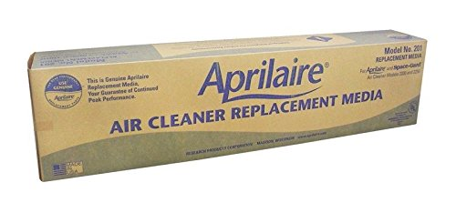 Aprilaire 201 Air Filter for Air Purifier Models, 2200 and 2250, Pack of 8